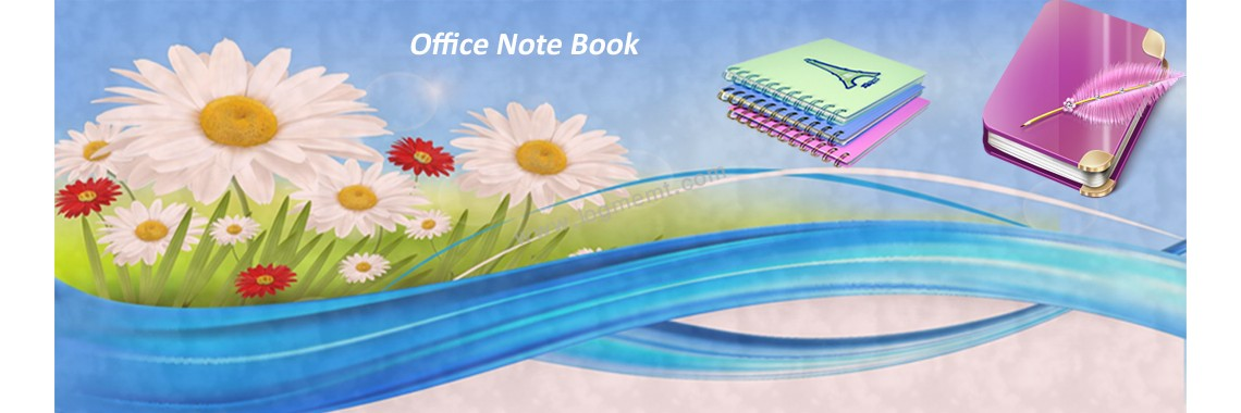 office note book diary